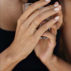 Mejuri diamond ring